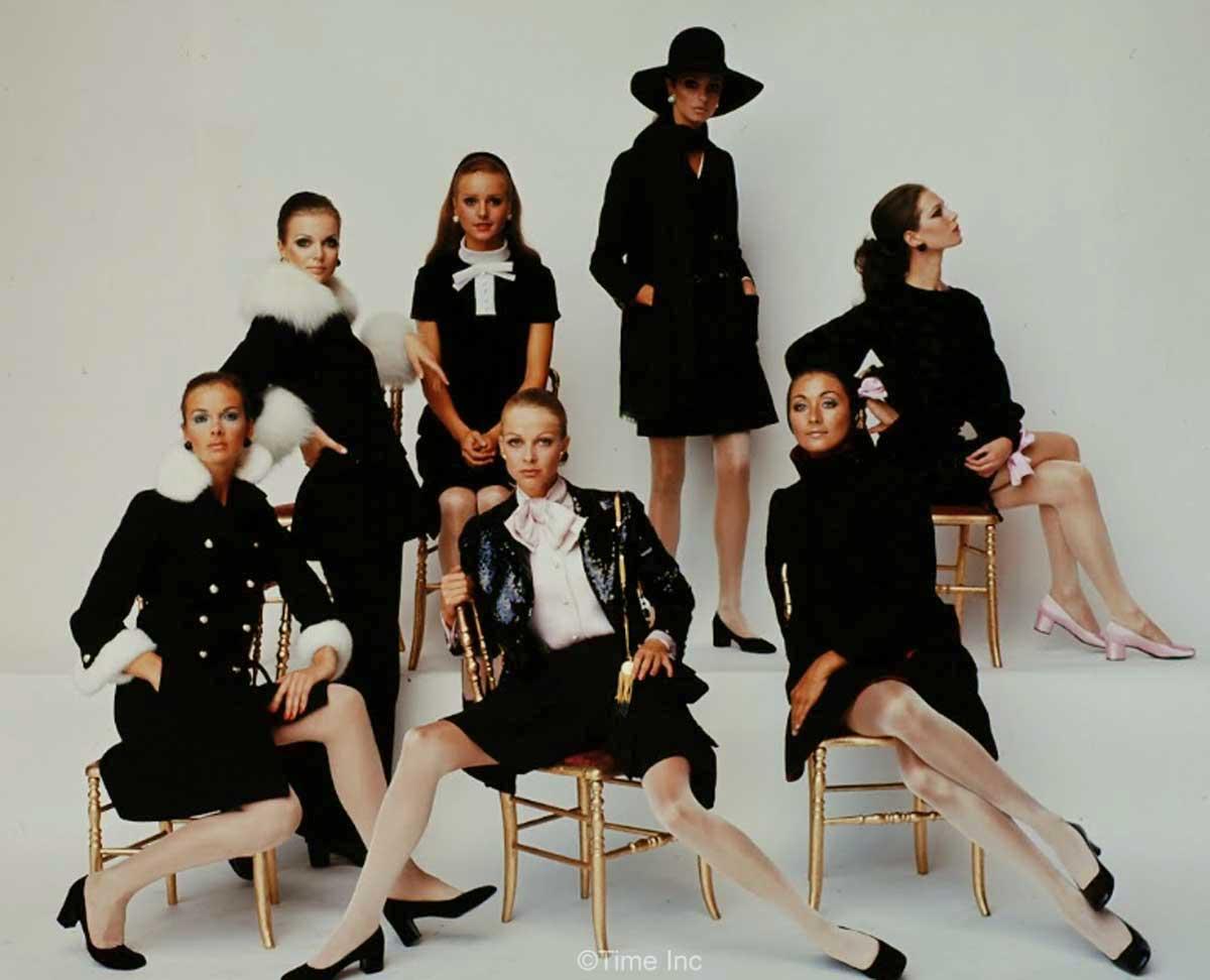 1960s-Fashion---Paris-Fall-Season-of-1968---Dior