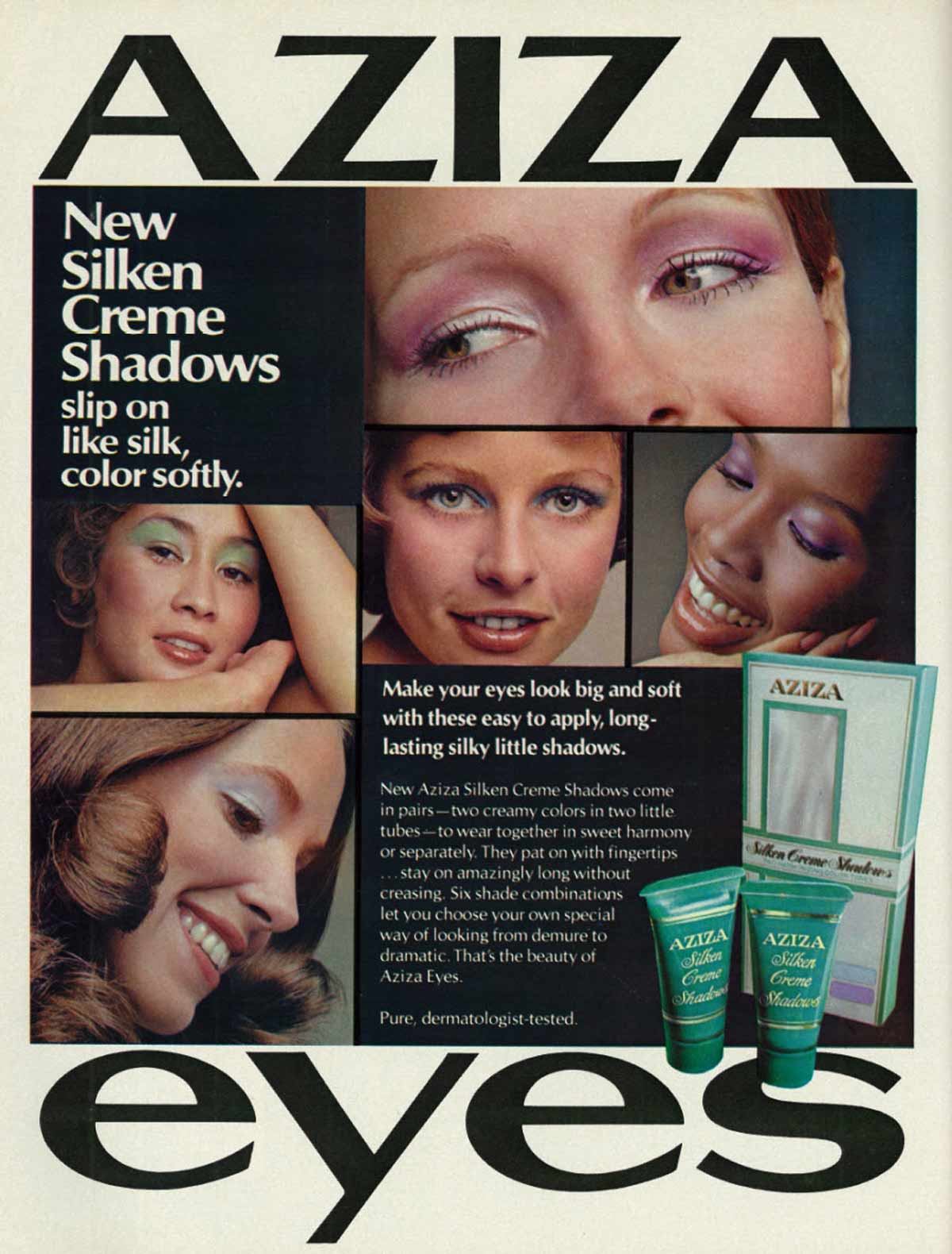 The 1970s Makeup Look 5 Key Points Glamour Daze - 1920s-makeup-ads