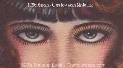 Clara-Bow-1920s-mascara