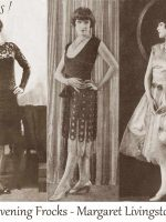 Three-Evening-Frocks----Margaret-Livingston-1926