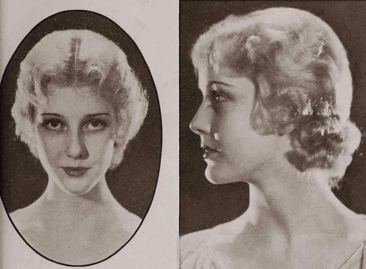 1930 Hollywood Beauty Tricks Oct 1932 Glamour Daze