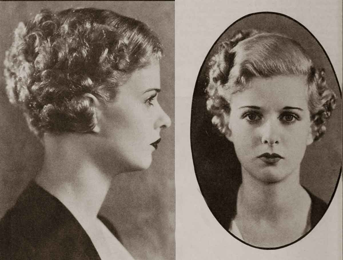 1930 Hollywood Beauty Tricks - Oct 1932