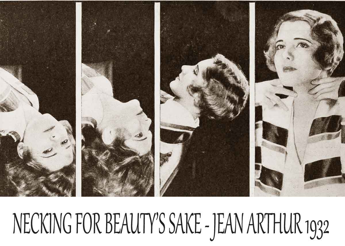 1930s-Hollywood-Beauty-Tricks---Neck-Stretch