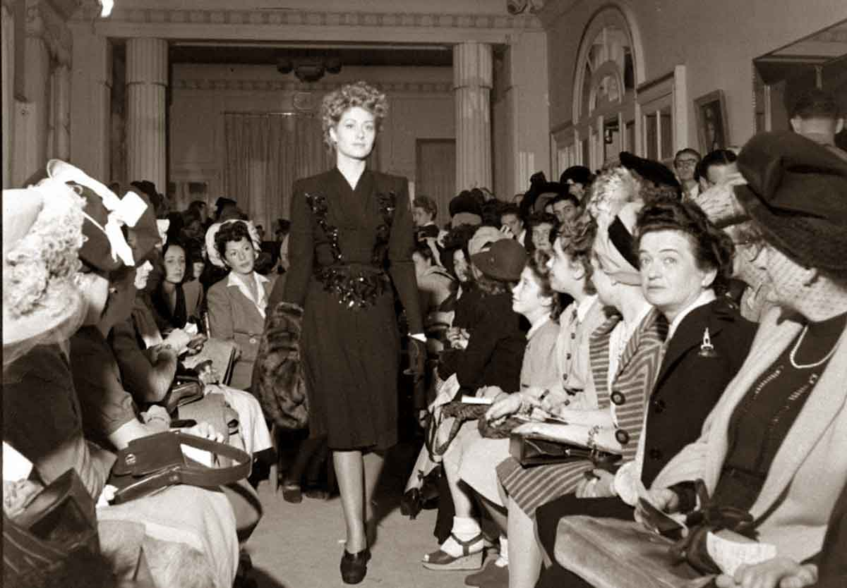 Paris Fashions Fall Collections 1944 Glamourdaze