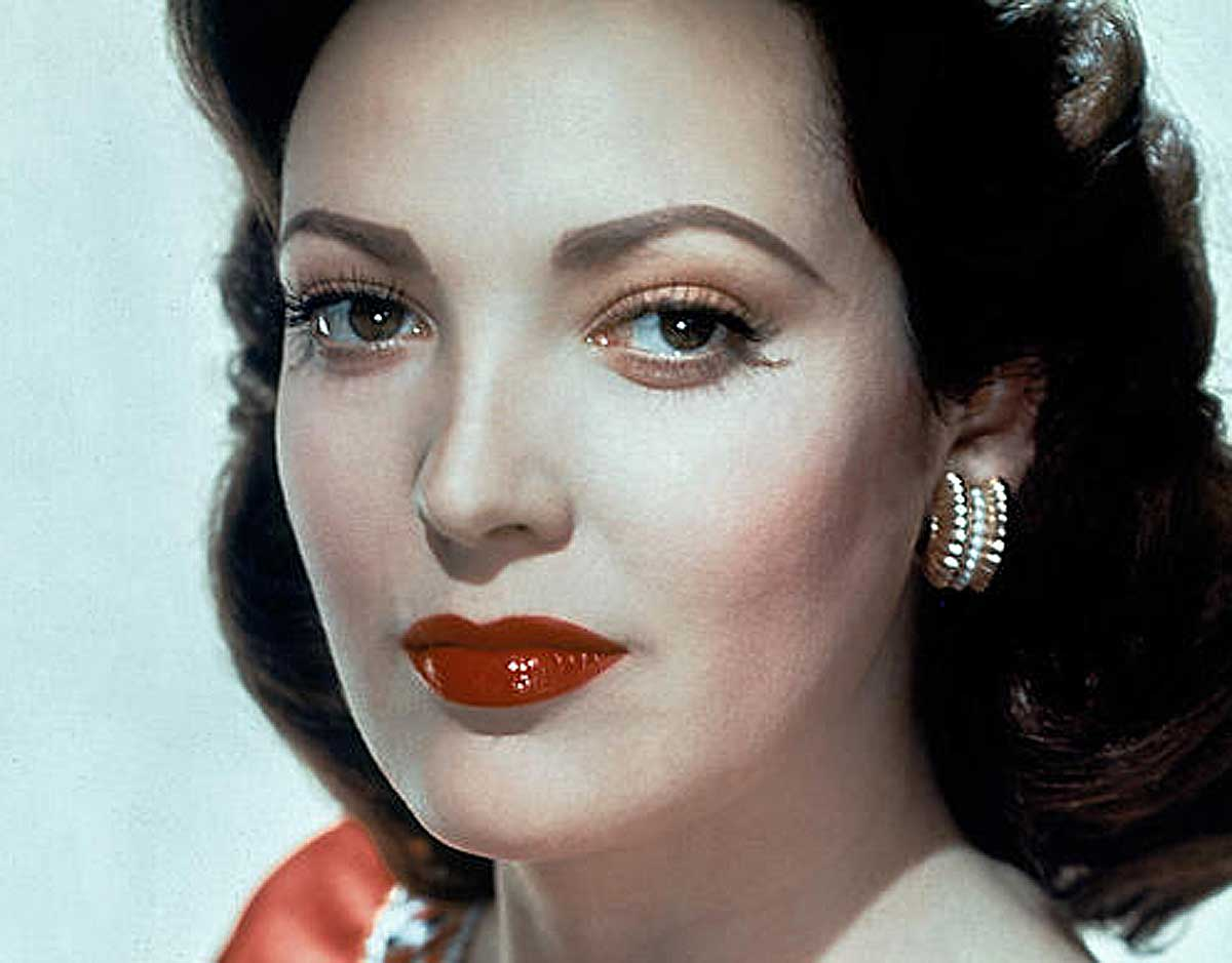 famous 1940s hollywood faces and their make