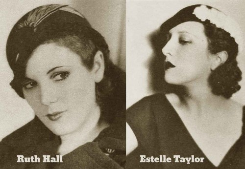 1930s Fashion - The Debs Winter Wardrobe for 1931 - Hats