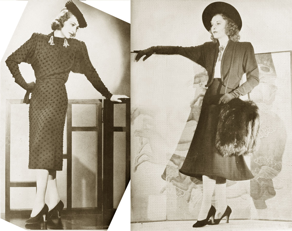 1930s Hat Styles - Fashion Era Pics of 1930s fashion