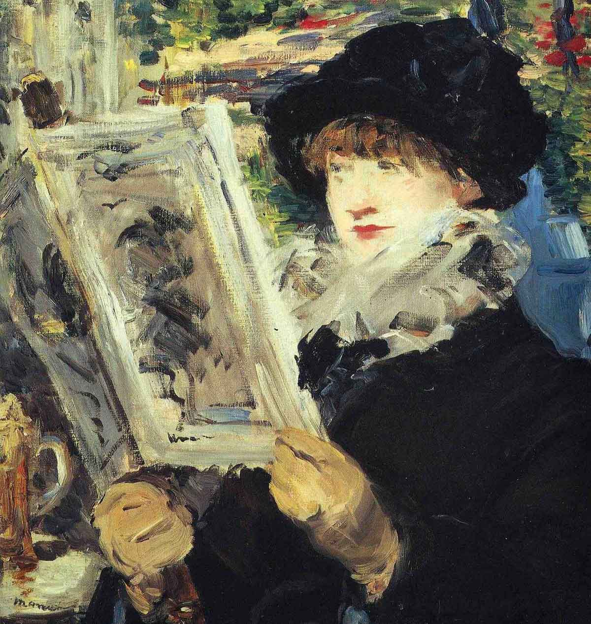 account of the life and paintings of edouard manet Edouard manet was born in a wealthy family of magistrates on his father side and diplomats on his mother side  will suffer all his life time that his painting,.