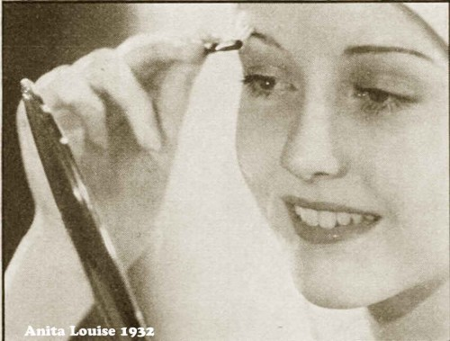 1930s Hollywood New Years Beauty Tips --Anita-Louise