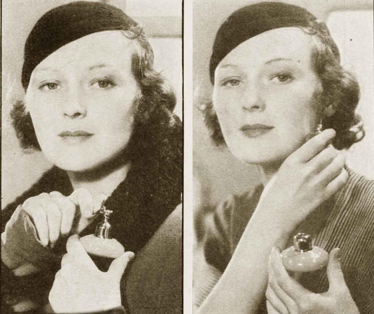 1930s Hollywood New Years Beauty Tips ---Dorothy-Jordan
