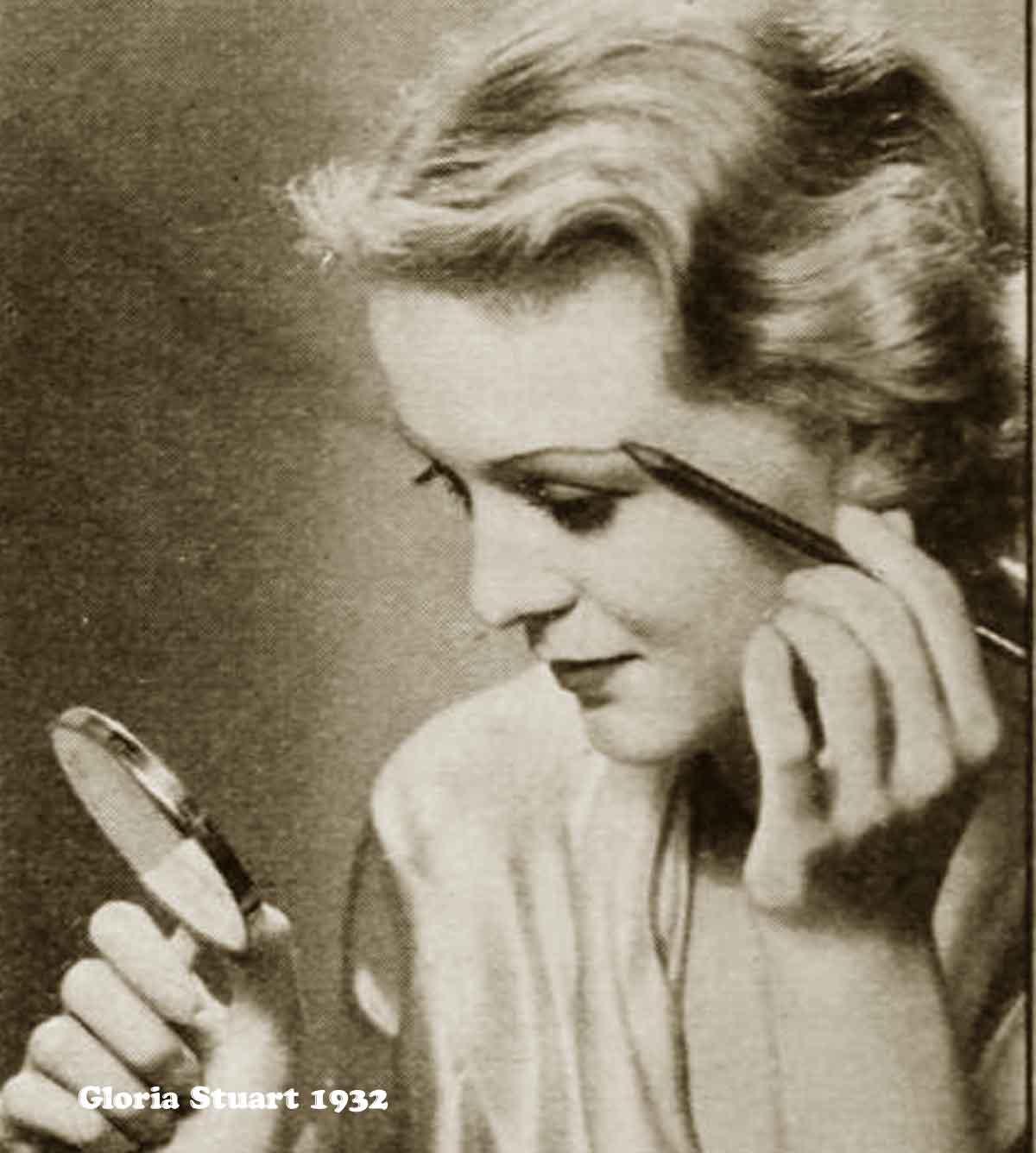 1930s Hollywood New Years Beauty Tips --Gloria-Stuart