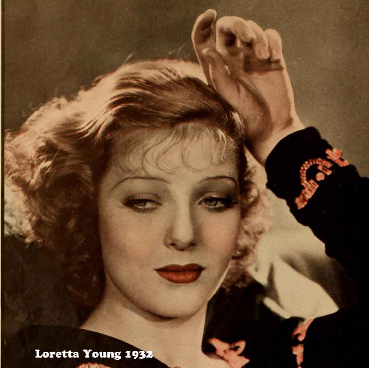 1930s Hollywood New Years Beauty Tips - Loretta Young