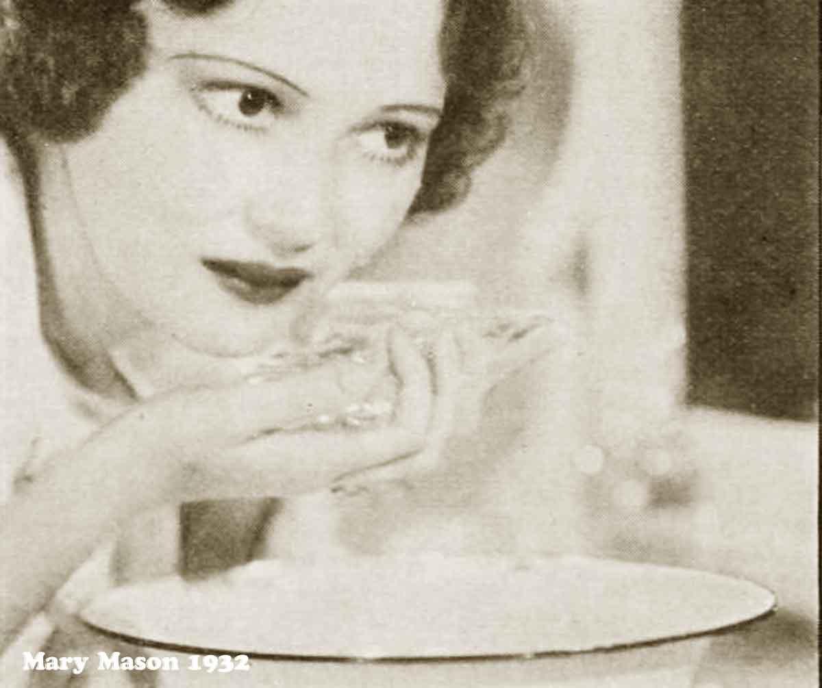 1930s Hollywood New Years Beauty Tips --Mary-Mason