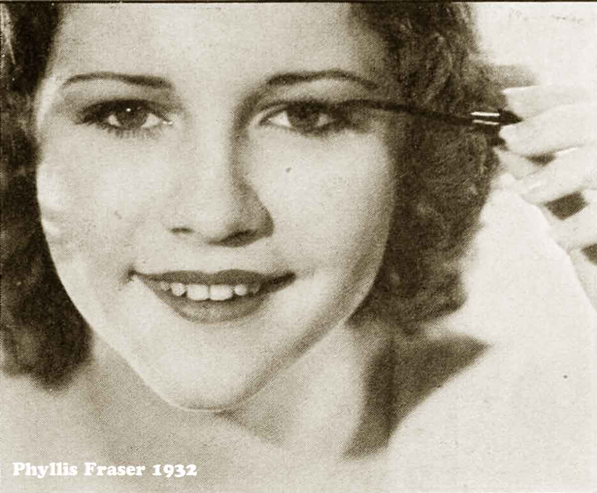 1930s Hollywood New Years Beauty Tips --Phyllis-Fraser