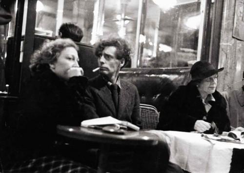 1935--Dome-Café-on-Montparnasse---Lucien-Aigner