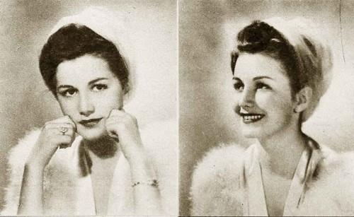 The Winter Facial. 1940s