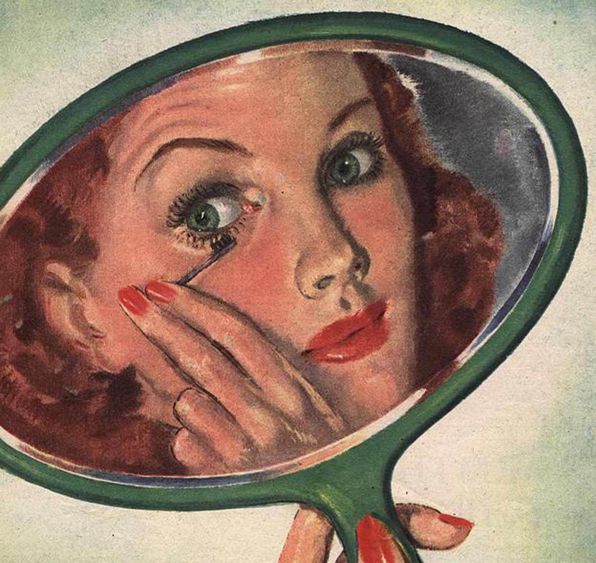 1940s Beauty – Eye Make-up Lesson 1941 | Glamourdaze