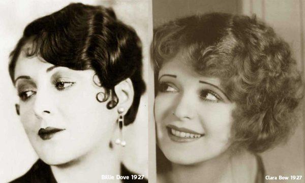 Billie-Dove-Clara-Bow-hairstyle-1927
