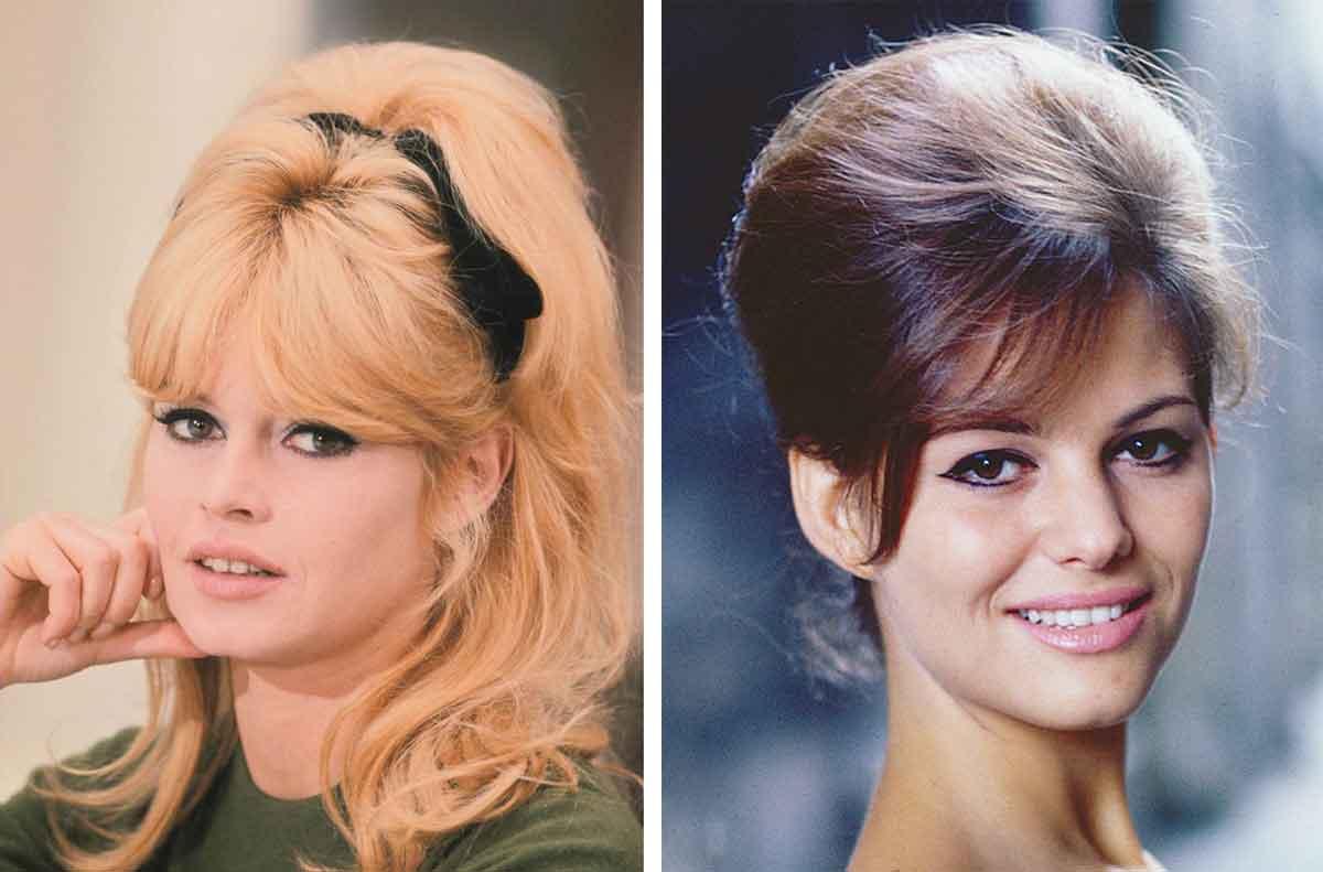 Brigitte-Bardot-Claudia-Cardinale-Beehive-girls