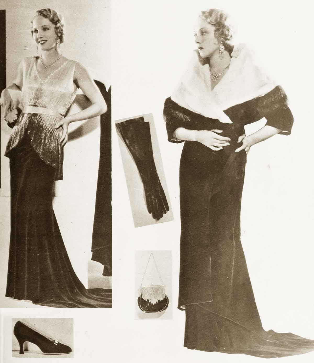 1930s-Fashion---A-Study-in-Accessories---Evening-ensemble