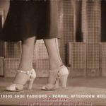 High Heel Fashion in 1930 – Why Women Wear them