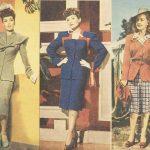 1940s Fashion – Hattie Carnegie Suits in 1945