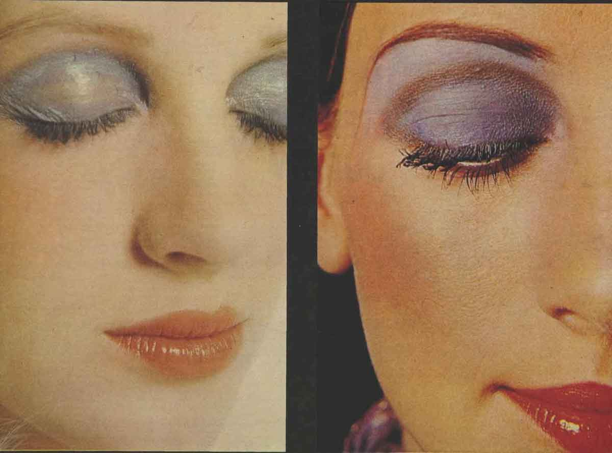 The Seventies Face Make Up For 1971 Glamour Daze