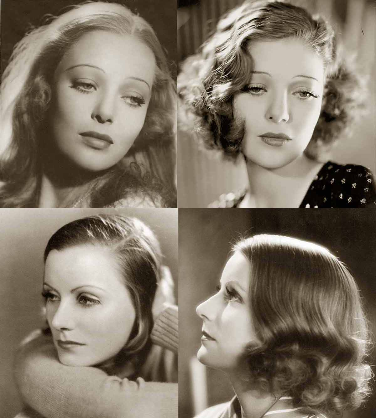 1930s Hairstyles Face Changes Glamour Daze