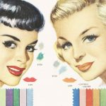 1950s Makeup – Color Harmony in 1951