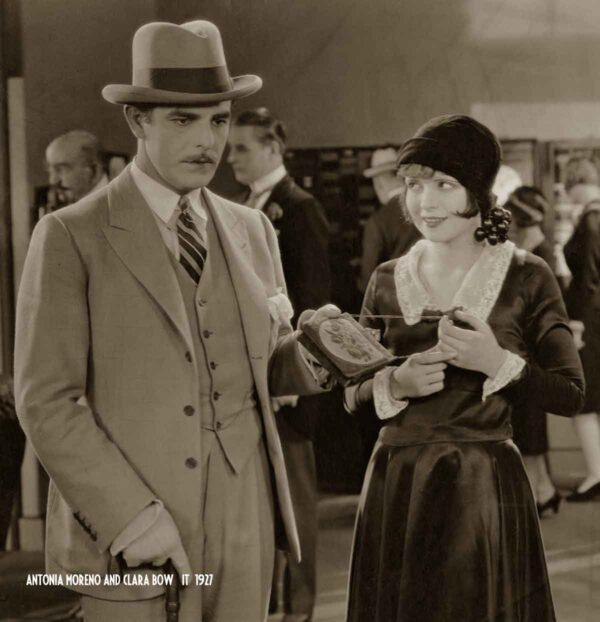 Clara Bow and Antonia Moreno - It (1927)