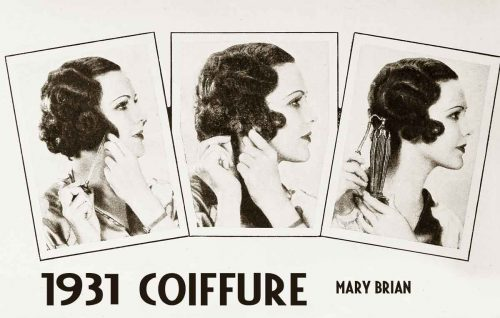 1930s-Hairstyle---A-Smart-Coiffure-for-Spring-Summer-1931