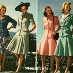 1940s Fashion – Spring College Suits for 1943