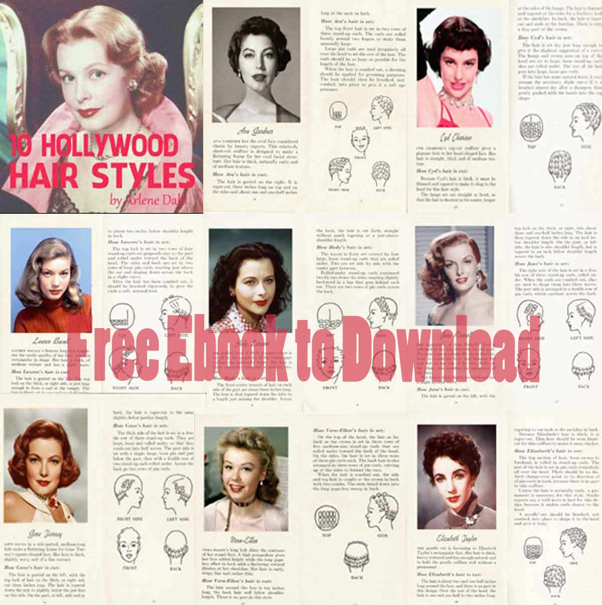 10-HOLLYWOOD-HAIRSTYLES---1952-Booklet-by-Arlene-Dahl
