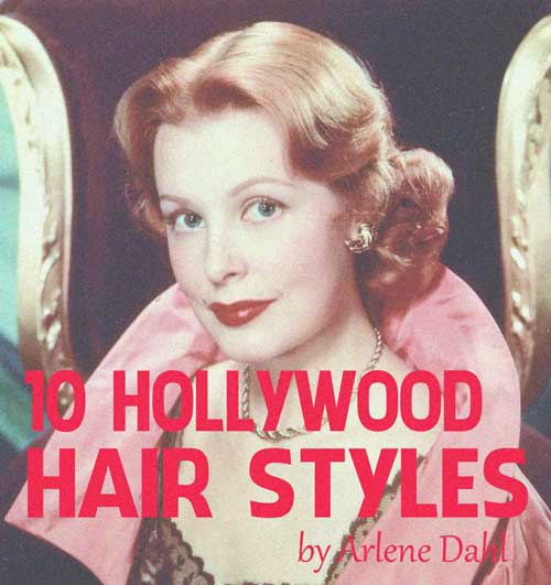 10 HOLLYWOOD HAIRSTYLES of the 50s