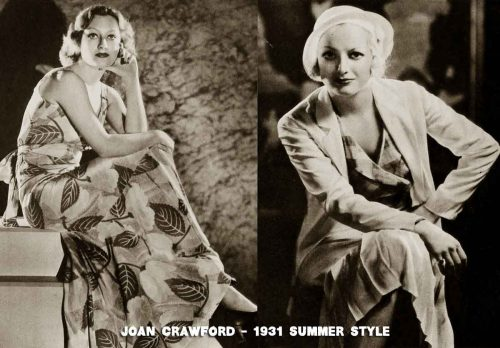 1930s-Fashion---Hollywood-Summer-Frocks---joan-crawford
