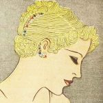 1930s Hairstyle – May Day Hair Decoration – 1936