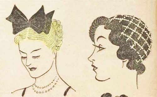 1930s-Hairstyle---May-Day-Hair-Decoration---1936-4