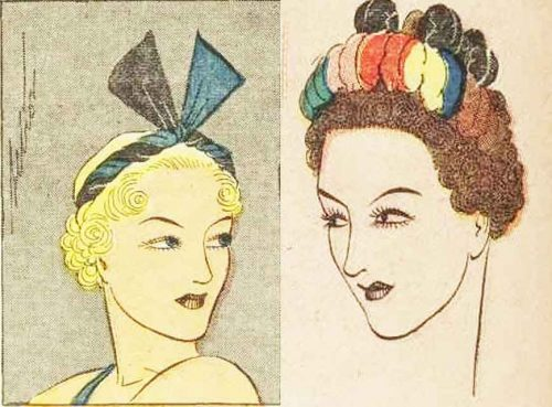 1930s-Hairstyle---May-Day-Hair-Decoration---1936-5