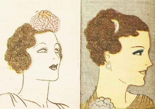 1930s-Hairstyle---May-Day-Hair-Decoration---1936-6