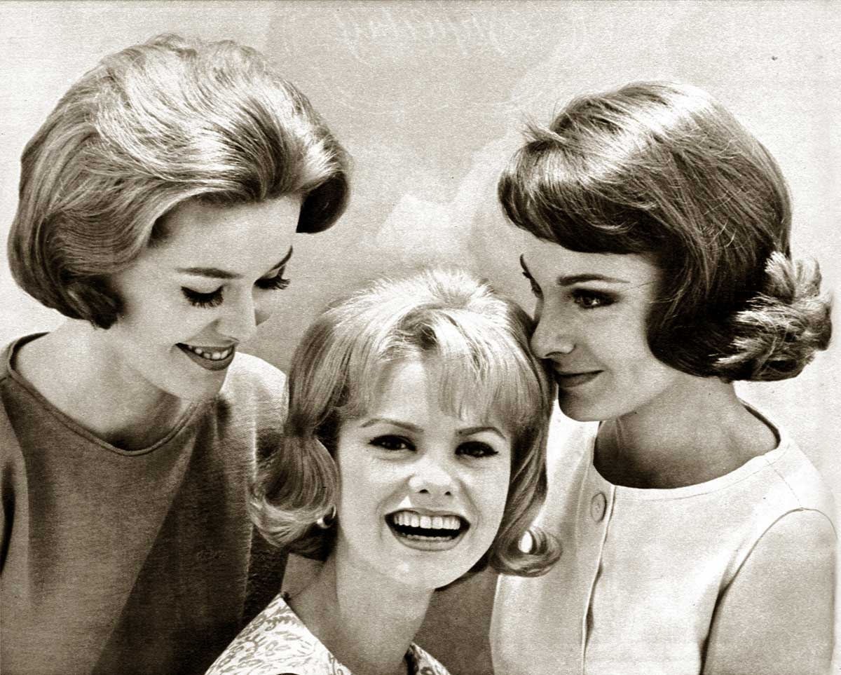 sixties hair style 1960s hairstyles six popular coiffures in 1962 glamourdaze 5846