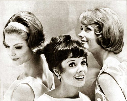1960s Hairstyles - Six Summer Coiffures for 1962