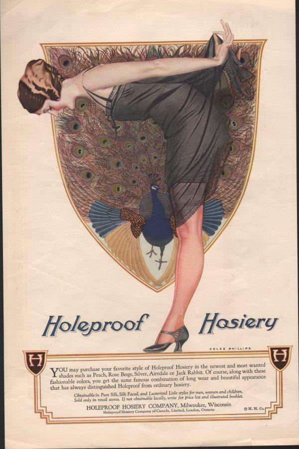 Holeproof Hosiery -1922 - Coles Phillips