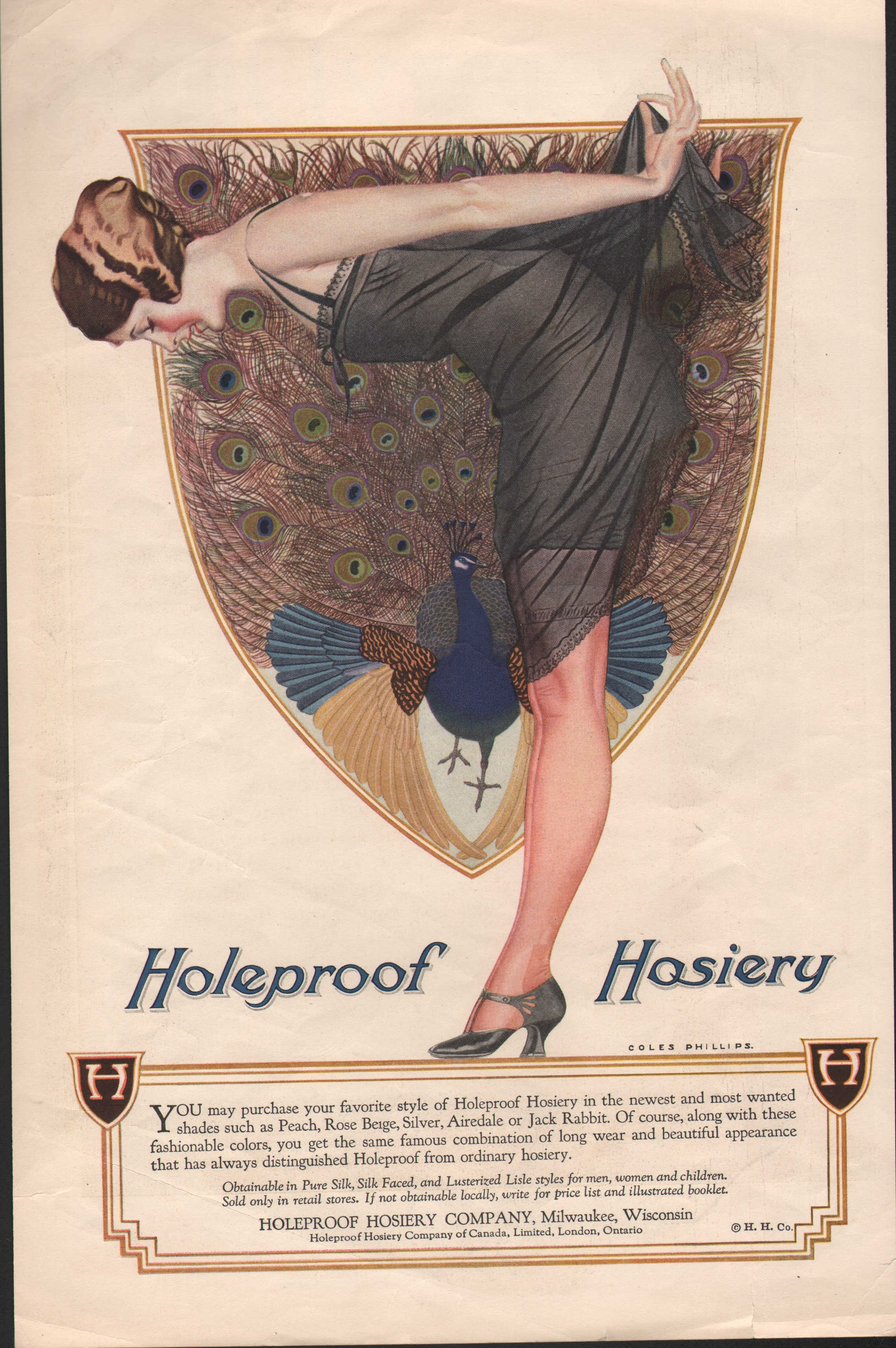 Holeproof Hosiery -1922 - Coles Phillips