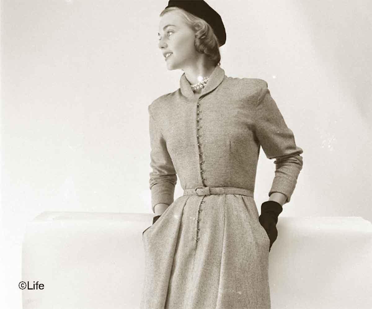 bedford-grey-tweed-office-dress---1948