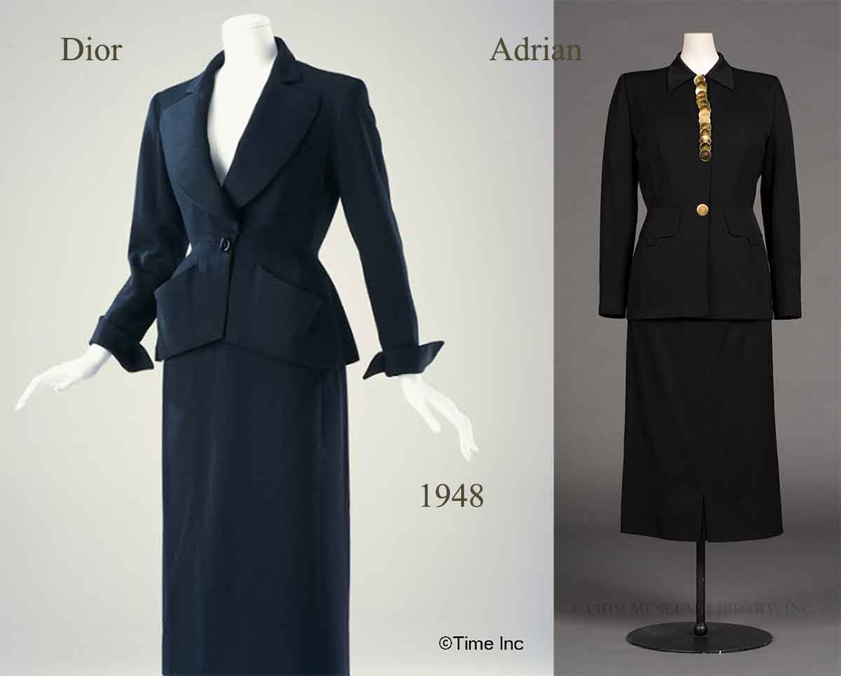 1940s-Fashion---The-American-Look-vs-Diors-'New-Look-'-1947