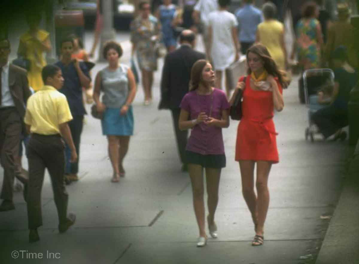 1960s Fashion The New York Look 1969 Glamour Daze