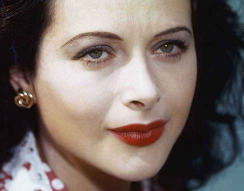 2-Hedy-Lamarr-Top Ten Most Beautiful 1940s Women