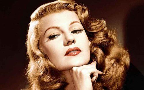 Rita Hayworth-Top Ten Most Beautiful 1940s Women