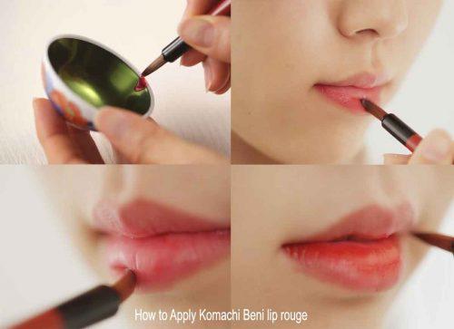 How-to-apply-Komachi-beni