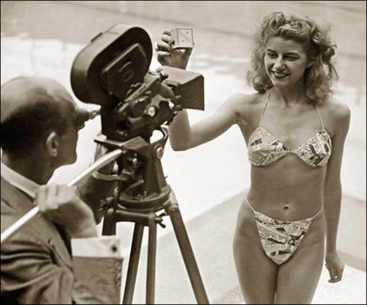 Micheline-Bernardini-models-the-Bikini-1946